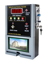 Professional Coin-operated Breath Alcohol Tester breathalyzer machine bar
