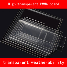 Acrylic Sheet Clear (Extruded) PMMA Plastic transparent plate various sizes