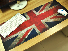 UK United Kingdom Britain Flag lockrand 66cm Big Size Gaming Personalized Durable Mouse Pad Mat Comfort Mice Pads(China)