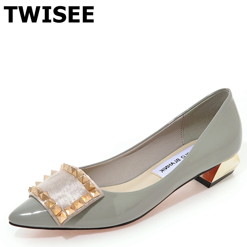Thin Heels 3.5 cm sapatos femininos high heels shoes woman Pointed Toe Comfortable spring pumps pu leather woman wedding shoes<br><br>Aliexpress