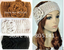 Autumn Winter Knitted Knit crochet headband headwrap for women hair band soft warm ear band