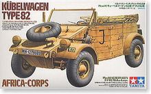 "TAMIYA 1/35 scale models 35238 World War II Germany Pkw.K1 barrel truck 82 ""African Legion"""