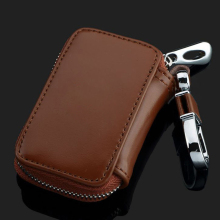 New Genuine Leather Key Cover Car Key Case For land rover BMW Mercedes Porsche volvo audi mg Cadillac jeep Key Shell For Jaguar