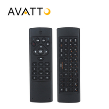[AVATTO] K16 Hebrew IR Learning Air Mouse 2.4G Wireless Mini Keyboard 10-20m Remote Control for Smart TV,PC,PS3,pad,Android Box