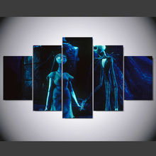 Wall Art Calligraphy Painting Nightmare Before Christmas Canvas Prints Picture For Living Room Movie Posters Home Decor IM-110