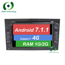 Android 7.1.1 2 DIN DVD GPS for Vauxhall Opel Astra H G J Vectra Antara Zafira Corsa Multimedia screen car radio stereo audio 4G