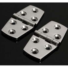 2pcs Marine Hardware Boat Cabin Hatch Flush Door Stainless Steel Hinge