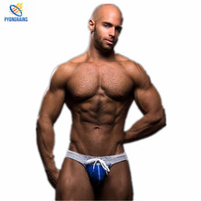 Buy 2016 New Mens Jockstraps Thongs G Strings Brand Sexy Men Underwear Gay Men Underwear Fashion Design Penis Pouch 2 Pcs