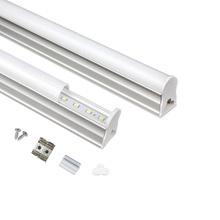 1pcs T5 Tube 1ft 6W 2ft 10W Integrated Led Tubes T5 24LEDs 48LEDs SMD2835 Led Fluorescent Lights 220V 240V Free shipping(China)