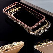 Buy 5s SE Luxury Bling Diamond Bumper Iphone SE Case Fashion Glitter Crystal Rhinestone Snake Inlay Metal Frame Cover Alabasta for $6.50 in AliExpress store