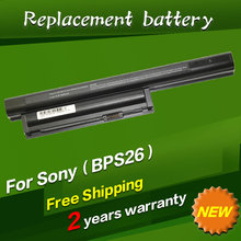 Buy JIGU 11.1V Laptop Battery Sony VAIO VGP-BPS26 VGP-BPS26A VAIO SVE141100C SVE14111 SVE14115 SVE14116 SVE15111 for $25.81 in AliExpress store
