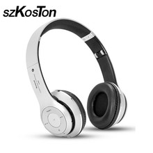 KST 3D Stereo Bass Bluetooth Headphones Wireless Bluetooth Headset With Mic+Extra Audio Cable Support TF/FM For All Phones PC