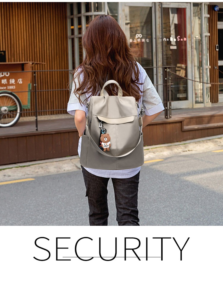 Large Capacity Backpack Women Preppy School Bags for Teenagers Female Oxford Travel Bags Girls Bear Pendant Backpack Mochilas 17 Online shopping Bangladesh