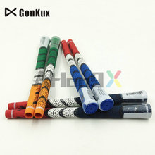 Gonkux 10pc/Lot Hot Sale Patriot Rubber Golf irons Grips,Blue.Green.Dark Blue 3Color/Can Mix Color Golf Club Grips