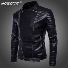 Men's locomotive high-end motorcycle leather jackets men's clothing leather jacket coat new style fashion sell like hot cakes(China)