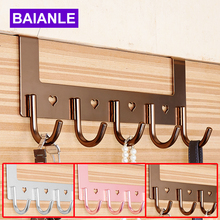 Bathroom Accessories Coat Clothes Hooks Modern Hooks Door For Aluminum Convenient Hooks For Clothes On The Door BAIANLE