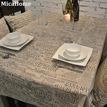 he new English letters Europe type restoring ancient ways antependium cloth tablecloth furniture suite tea table cloth