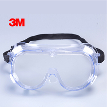 3M 1621 Anti-Impact Anti chemical splash Safety Goggles Economy clear Anti-Fog Lens Eye Protection dust laboratory Glasses