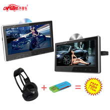 2PCS Full 11.6 inch Ultra-thin HD Screen Portable Car Headrest DVD Monitor 1336*768 Support USB/HDMI/RCA/IR/FM Game Remote(China)