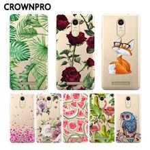 CROWNPRO Soft Silicon Xiaomi Redmi Note 3 Pro Case Cover Special Edition Painted Case FOR Xiaomi Redmi Note 3 Pro Prime SE 152mm