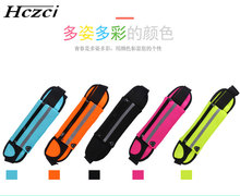 Hczci Running bag sport waist bag outdoor mobile phone anti-theft close contact multi function male and female marathon belt