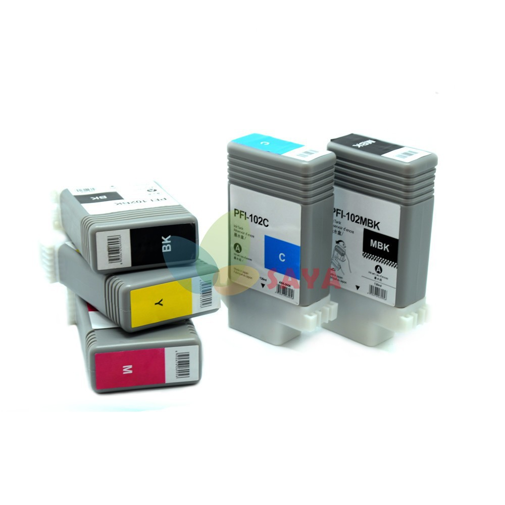 PFI102 Compatible ink cartridge for Canon Plotter iPF510/iPF610/iPF710/iPF605/iPF720/iPF500/iPF700/iPF600/iPF650/iPF755/750/760<br><br>Aliexpress