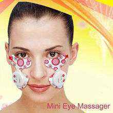 New Arrival for Market Beauty Care Electric pulse eye and facial massager for anti wrinkle and anti ageing x 1box(China)
