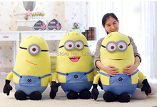 Big Size 50CM 3D Despicable ME Very Big Movie Plush Toy 20Inch Minions Toys & Hobbies Dave Jorge Stewart  Stuffed soft Doll
