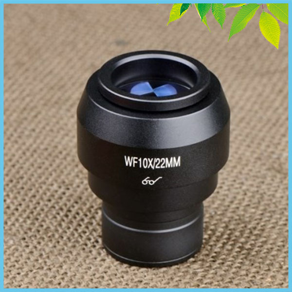 1 PC WF10X/22mm Adjustable Eyepiece Lens High Eye Point Wide Field Ocular with Mounting Size 30.5mm<br>