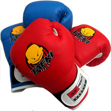 Kids Children Cartoon Sparring  Boxing Gloves Training   5-10 Years  Filled with EVA and thick sponge adjustable Velcro strap