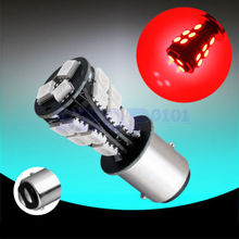 1pcs 1157 BAY15D P21/5W 18SMD 18 SMD Red Amber Yellow White Brake Tail Car LED Light Bulb Lamp 1156 BA15S P21W