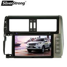 Free shipping Indash 2 Din 8inch Car DVD for TToyota Land cruiser Prado 150 2010-2013 car GPS Stereo land cruiser Prado BT