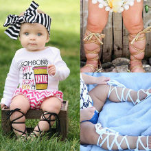 2017 Baby First Walkers Newborn Infant Toddler Girl PU Leather Bandage Pram Shoes