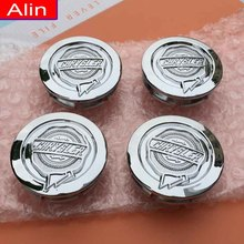 4pcs 54mm ABS Chrome Silver Chrysler logo Wheel Center Hub Cap car rim Badge emblem covers for 300 Sebring Pacifica 04895899AB