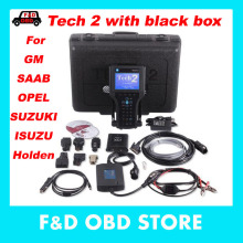 for GM Tech 2 Scanner support SAAB/Opel/GM/ Isuzu/Suzuki/Holden with (Candi+TIS software+32MB Card) Vetronix GM Tech2 with box