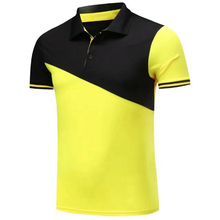 New Men Football Soccer Polo Shirts Summer Golf Training Sports Shirts Short Sleeve Polo Tops Outdoor Sports Suit Sportswear