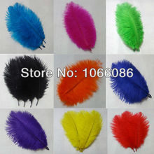 "Free Shipping! 200pcs/lot 15-20cm 6-8"" Top quality ostrich feathers ostrich drab feather plumes(China)"