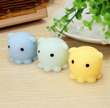 Cute Octopus Squishy Healing Kid Toy Gift Stress Reliever Decor Stretch Japan Mochi Squeeze With Box Toy Mobile Phone Strapes(China)