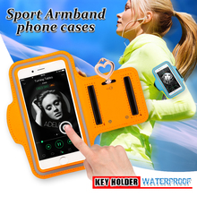 Case for iPhone 6 6s 4.7'' Waterproof Adjustable Running Sport Gym handhbag Jogging Arm Band Mobile Phone cases Key package