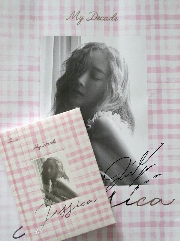 Jessica autographed mini3rd album My Decade CD+photobook K-POP new korean 082017<br>