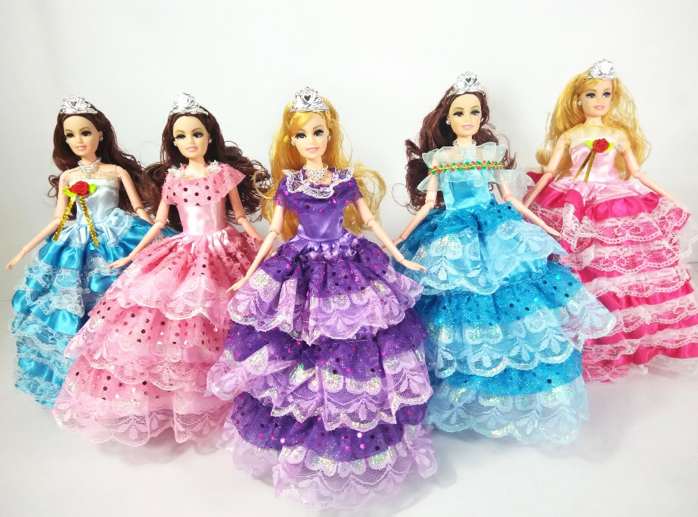 Free Delivery,Christmas Reward,Lady Birthday Reward Toy Authentic 11joint Doll (doll+garments+footwear) equipment For Barbie Doll ,YF1