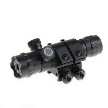 2PC 20mm Red Dot Laser Sight Adjustable Fr Rifle Gun Scope Remote Switch 20mm Mounts VEN93 T16 0.4