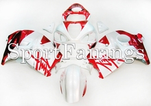 Fairings Fit Suzuki GSXR1300 Hayabusa Year 97 - 07 1997 1998 2006 2007 ABS Motorcycle Fairing Kit Bodywork Cowling Red Silver