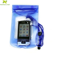 NoEnName_Null Fish SunDay New Clear Waterproof Pouch Bag Dry Case Cover For All Cell Phone Camera  Levert dropship Jan28