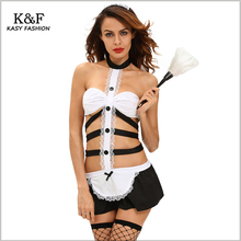 Sexy French Maid Lingerie sets 2016 Luxury Branded Design New Years Gift for women Hot Ladies COSTUME TENUE DE SERVEUSE SOUBRETT