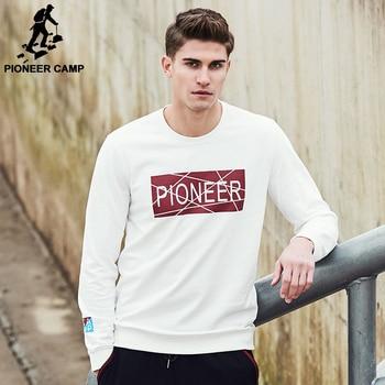 Pioneer Camp marque sweat hommes Nouvelle arrivée style de mode hoodies hommes top qualité casual male hoodies survêtement AWY703008A