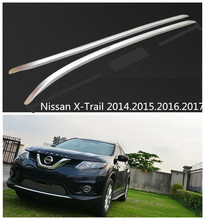 Car Roof Racks Luggage rack For Nissan X-Trail 2014.2015.2016.2017 High Quality New Aluminium European Version Auto Accessories