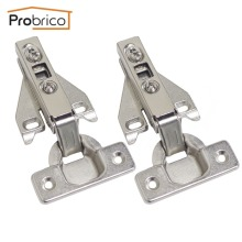 Probrico Face Frame Kitchen Cabinet Hinges Iron CHHS09GA Furniture Full Overlay Concealed Cupboard Door Hinge(China)