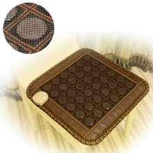 2016 Wholesale Health Care Mat! Natural Tourmaline Mat Heat Chair Cushion Jade Physical Therapy Mat For Sale Free Shipping