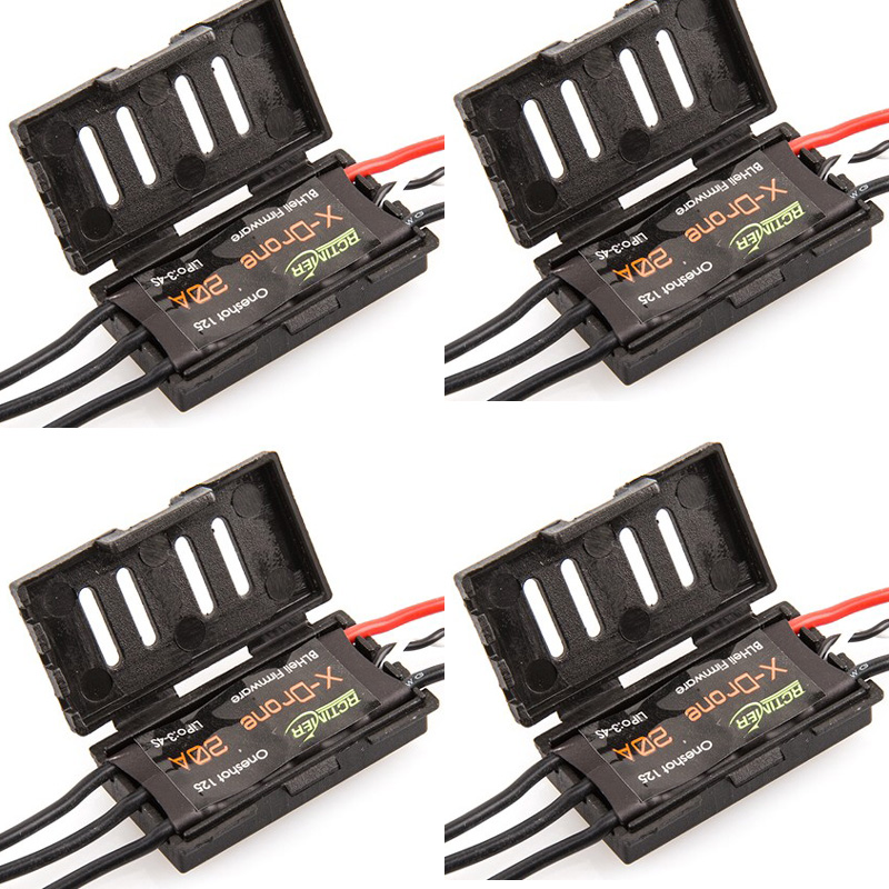 4pcs RCTimer ESC  X-Drone High Speed Mini ESC 20A  can 3-4s BLHeli With Protect Case  for FPV Racing Quad  Freeshipping<br><br>Aliexpress